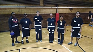 Halloween Dodgeball Fun!  We Played and Partied in Costume.