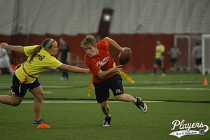 Indoor Fall Flag Football Leagues