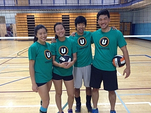 volleyball team page for froggy style underdog sports leagues
