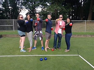 Invasion of the Bocce Snatchers Team Photo