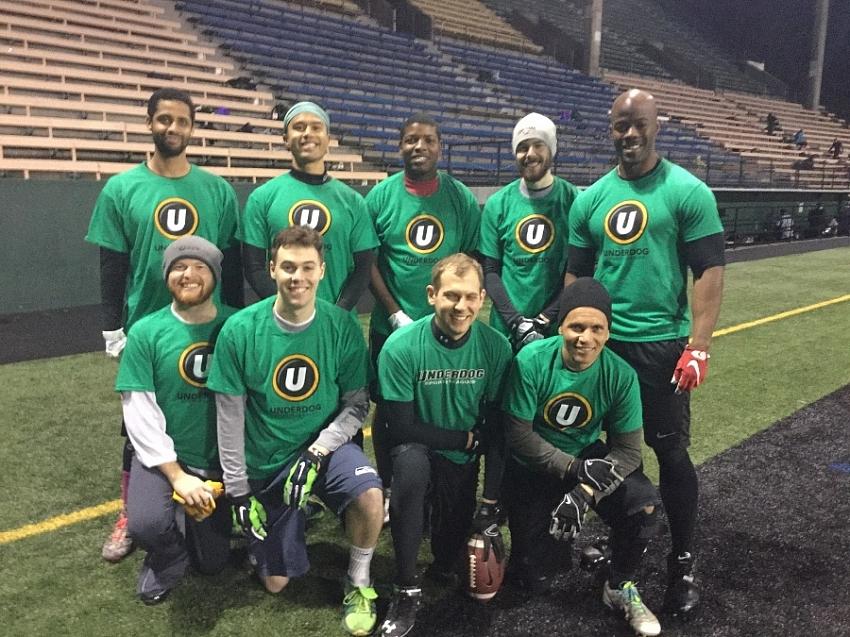 Flag Football - Team Page for Rain City Mud Dogs - Underdog