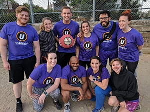Kickball and Chill Team Photo