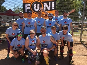 Blood, Sweat, & Beers Team Photo