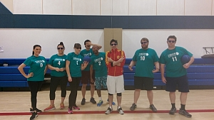 Teal-quila Team Photo
