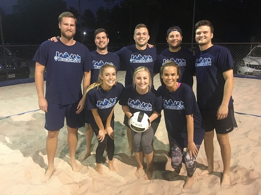 Sand Volleyball Team Page For Spike Tyson Houston Sports Social Club Houston Tx