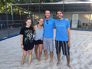 Sand Volleyball - Team Page for Not Good at Volleyball Puns