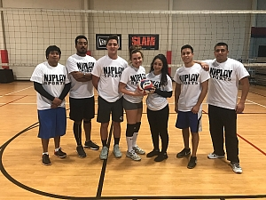 Co-Ed Indoor Volleyball