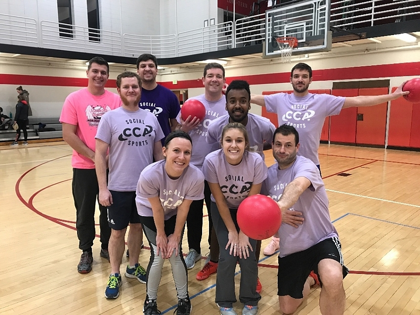 Dodgeball - Team Page for Average Joes - CCA Sports