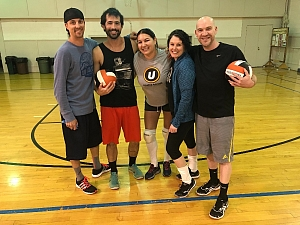 E! True Volleyball Story Team Photo