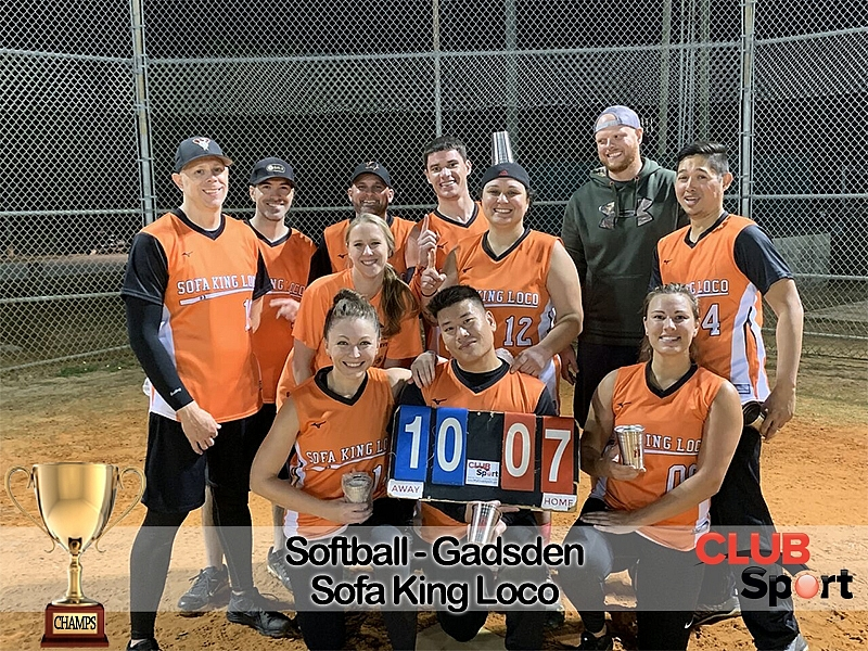Sofa King Loco - CHAMPS!