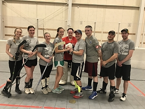 Congrats to the Newly Weds and The Floor Hockey CHAMPS- Direwolves