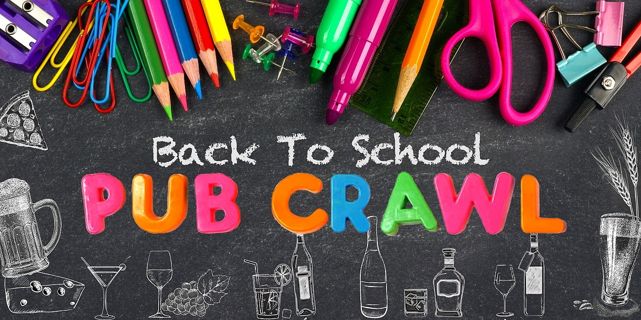 Back to School Pub Crawl