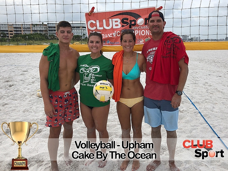 Volleyball Photo Gallery Saturday Coed Volleyball Upham Spring 2019 Tampa Bay Club Sport St Petersburg Fl