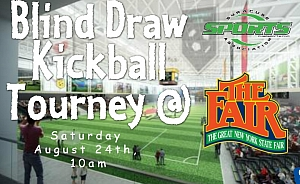 Saturday August (TBD) 2020 - 2nd annual Blind Draw Tourney @ The Great NYS Fair