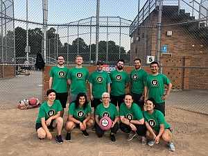 Our Drinking Team Has A Kickball Problem - Indy #K16 Team Photo