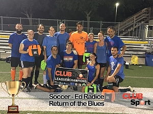 Return of the Blues - CHAMPS Team Photo