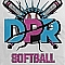 DPR Softball  Team Logo