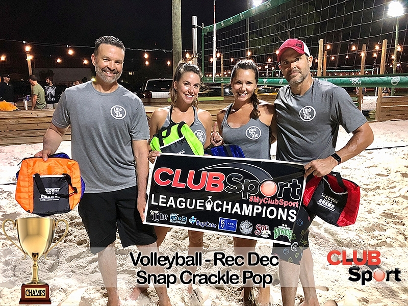 Snap, Crackle, Pop (cb) - CHAMPS
