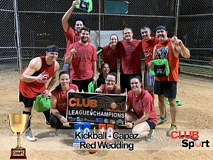 Red Wedding - CHAMPS Team Photo