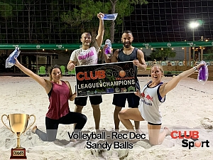 Sandy Balls - (r) Team Photo