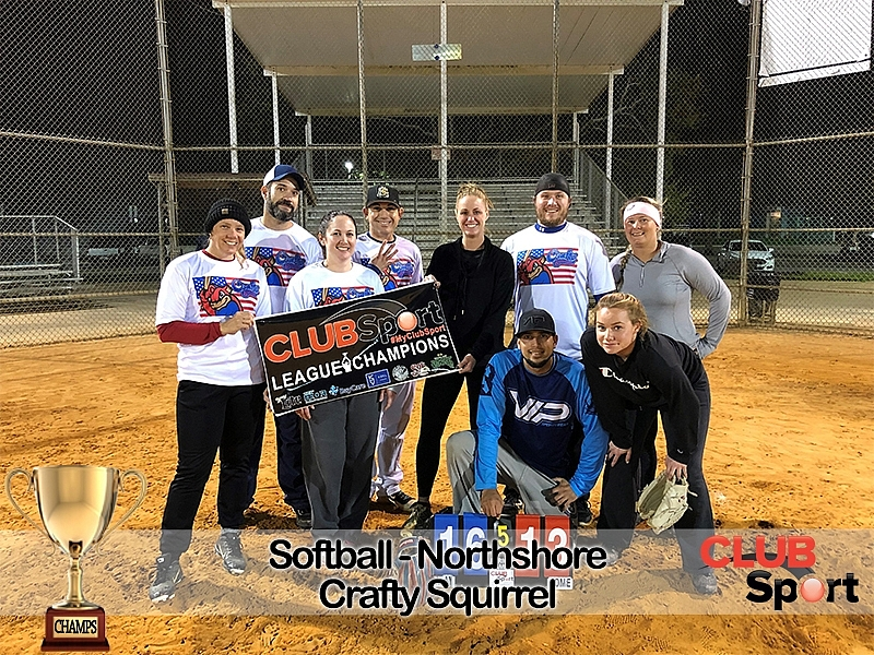 Crafty Squirrel - CHAMPS
