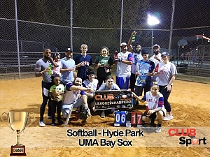 UMA - Bay Sox - CHAMPS photo