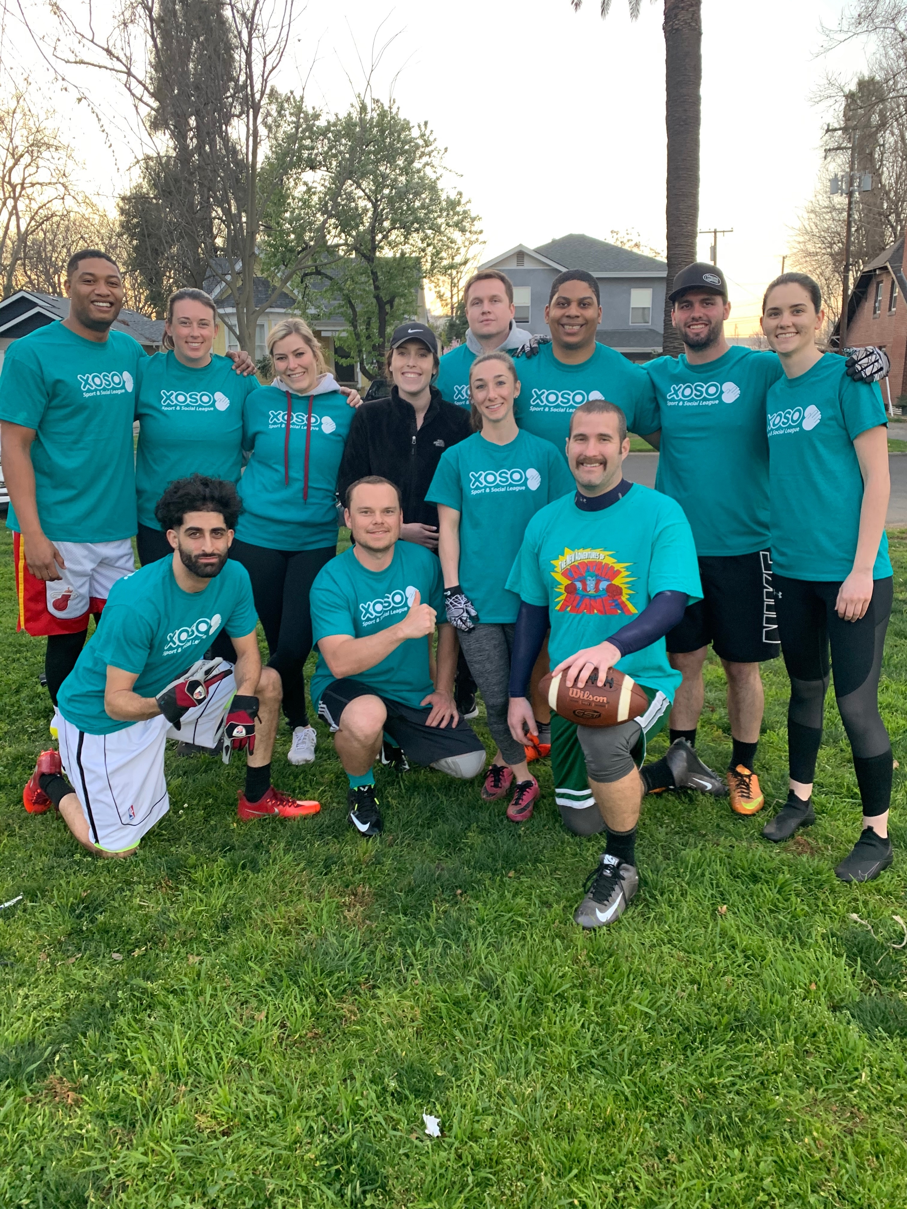 Flag Football - Team Page for Juco Dropouts - Xoso Sport ...