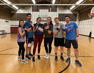 Volley Llamas Team Photo