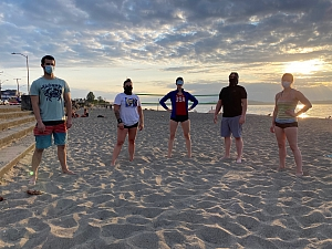 My Beach is Bad & Boujee Team Photo