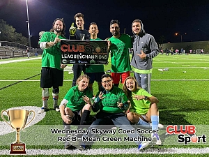 Mean Green Machine - CHAMPS photo