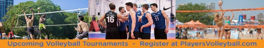 Volleyball Tournaments - Any Season