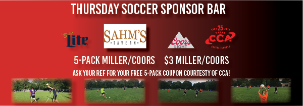 Thursday Soccer 2019