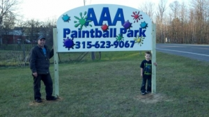 AAA Paintball Park  Logo