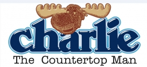 Charlie The Countertop Man Logo