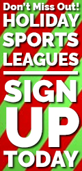 Sign up for holiday leagues!