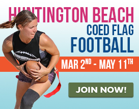 Join our largest Saturday Huntington Beach Football League!