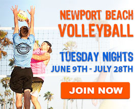 Tuesday Beach Volleyball in Newport