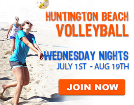 Wednesday Beach Volleyball in Huntington Beach