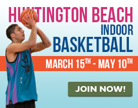 Join our Sunday basketball league in Huntington Beach!