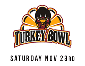 Join our annual Turkey Bowl Tournament in Huntington Beach!