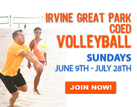 JOIN OUR ONLY WEEKEND BEACH VOLLEYBALL LEAGUE THIS SUMMER!