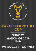 Castleberry Hill Cup - 2018 Soccer Tournament